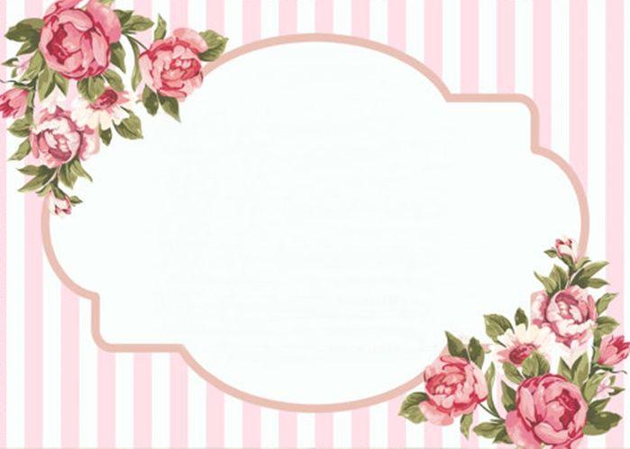 ✿ ❀ ❁✿ ❀ ❁✿ ❀ ❁✿ ❀ ❁ Rótulo floral  ✿ ❀ ❁✿ ❀ ❁✿ ❀ ❁✿ ❀ ❁