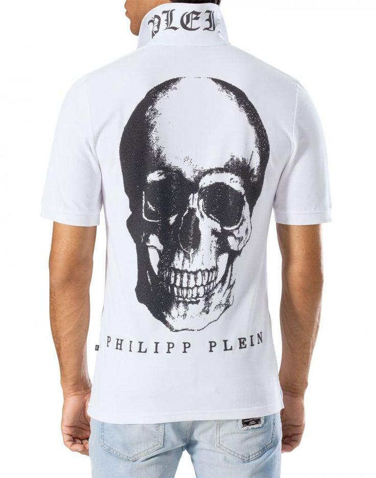 PHILIPP PLEIN T-SHIRT polo Blackheart