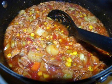 Brunswick Stew Georgia Style Chicken And Pork ) Recipe - Food.com: Food.com