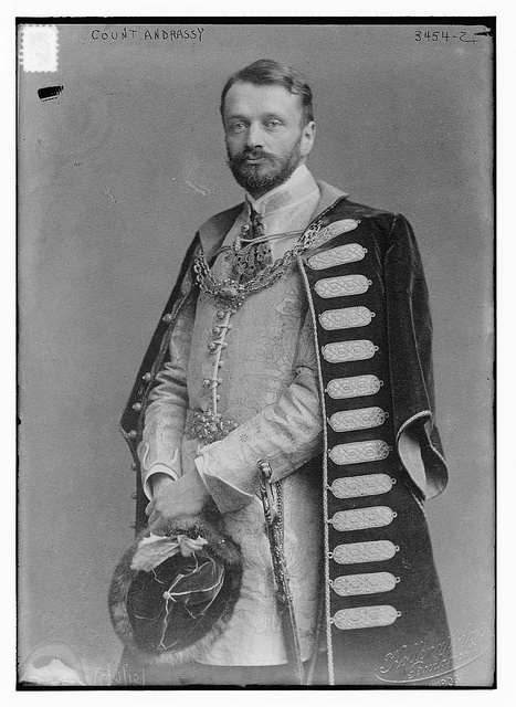 Count Andrassy (LOC) by The Library of Congress, via Flickr