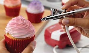 "Groupon - ""Cake Boss"" Cake-Decorating Tools Airbrushing Kit in [missing {{location}} value]. Groupon deal price: $69.99"