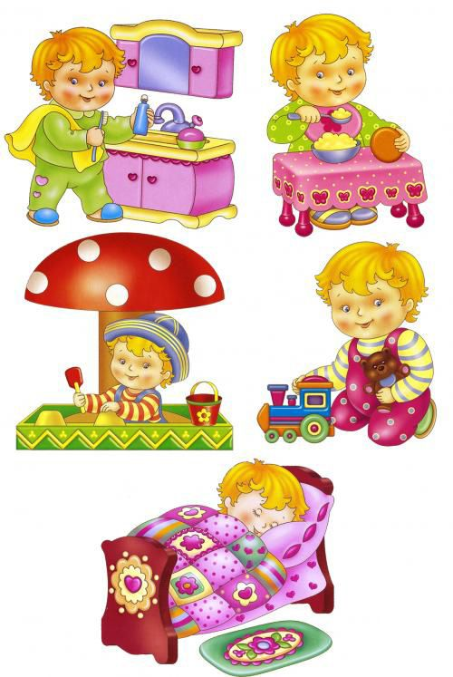 Jelenet Pictures for Kids - mód, ütemezés