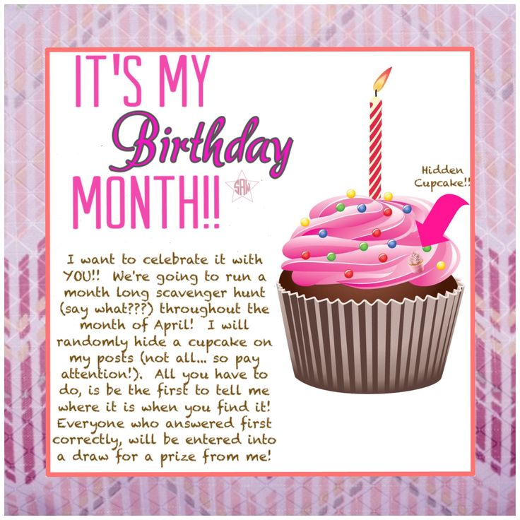 direct sales it u0026 39 s my birthday month idea   graphic for vip facebook group  month long scavenger