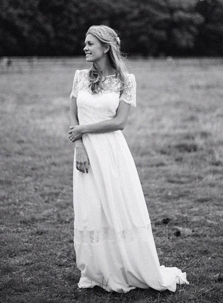 Stunning Laure de Sagazan u Mallarme Size Wedding Dress