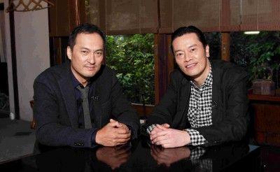 ノンフィクションWで対談が実現した渡辺謙と遠藤憲一(写真左から)