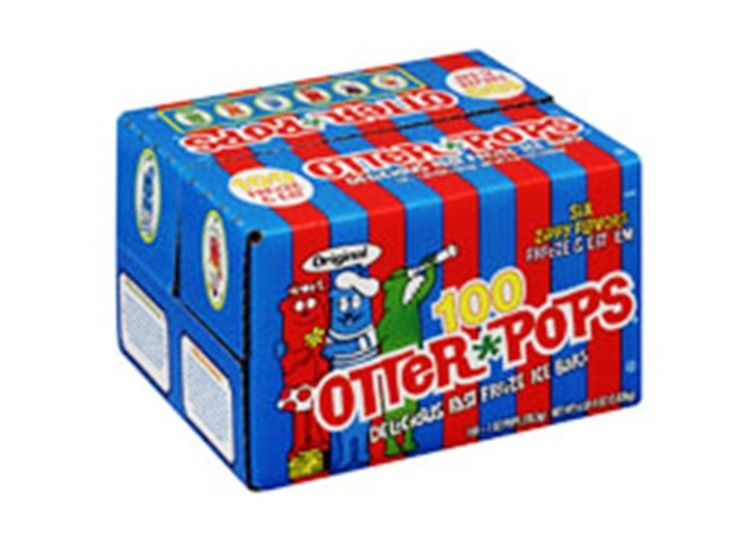 Otter Pops 1Oz Assorted Freezer Bars 100 Count (Made With Real Fruit Ju) [85100]