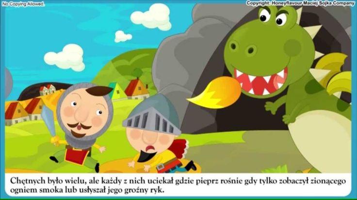 Smok Wawelski - bajka dla dzieci - Czytanka PL