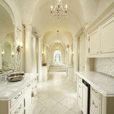 Mediterranean bathroom design pictures remodel decor for Bathroom remodel for 4000