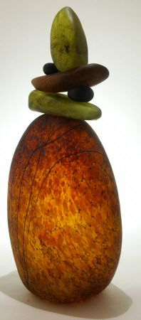 Art Glass Sculpture from Kela's...a glass gallery on Kauai. Lep Kairn