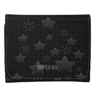 Dreamywave: Clothing Accessories: Zazzle.com Store To buy here: http://www.zazzle.com/gray_silver_stars_flower_retro_wallet-256939308969202034