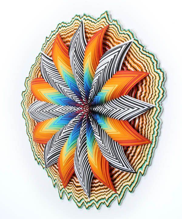 Esculturas de Color de Jen Stark