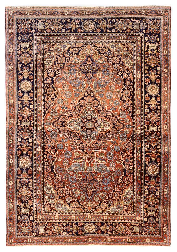 KASHAN MOHTASHAM RUG 197 x 135 | 141709754560 | GB Rugs