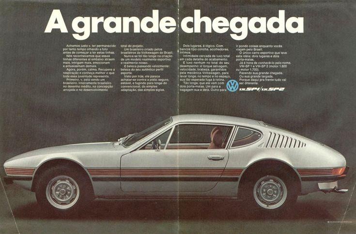SP2 (comparar com Lambo Marzal), Brasilia e Gol: o nascimento dos Volkswagen brasileiros - e a história de ...