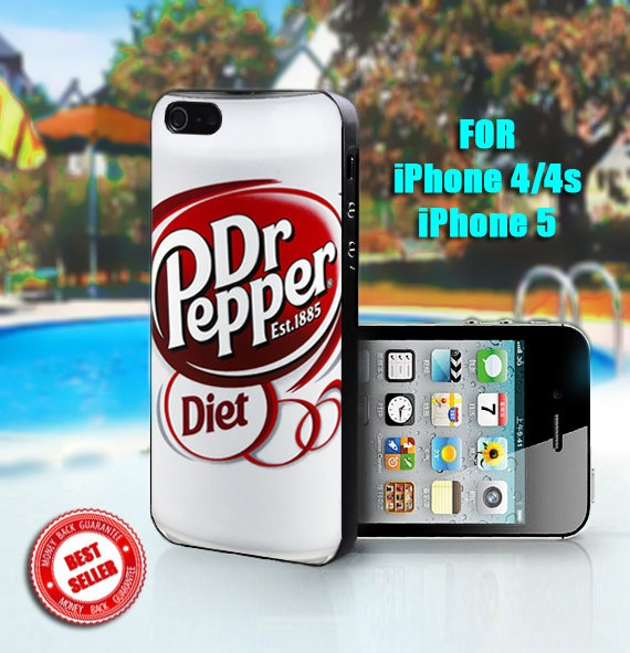 Dr pepper Diet - Print on Hard Case