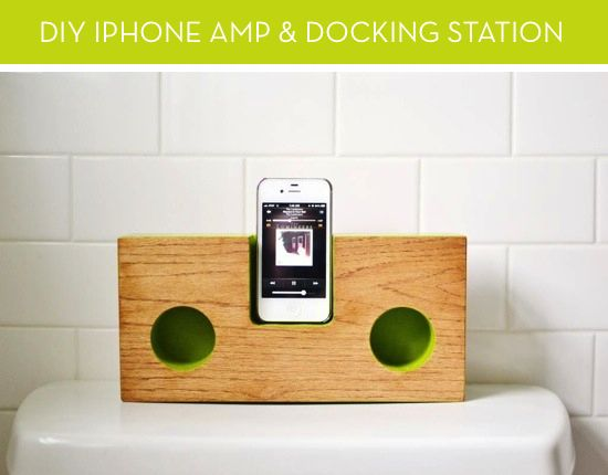 How to Make a Mod iPhone Amp and Docking Station out of Wood