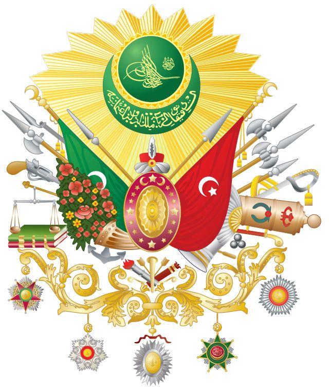Osmanivaltakunnan vaakuna  Napoleonin kompleksit: Kansallissymboliarvostelu: Historiallinen katsaus: Keskusvallat