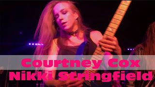 Courtney Cox Nikki Stringfield: The Iron Maidens - recent show performances   The Iron Maidens - Hallowed Be Thy Name  REX Bensheim 2017/10/18 The Iron Maidens - Hallowed Be Thy Name The Iron Maidens The Royal Salt Lake City 2017 Courtney Cox Nikki Stringfield