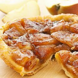 Французский пирог-перевертыш Тарт Татен.