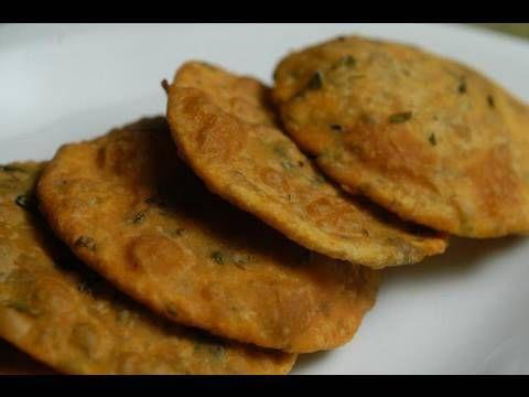 Parsley Poori - Ranveer Brar - Breakfast Xpress - YouTube