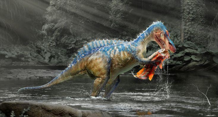 Artstation suchomimus damir g martin dinosaur
