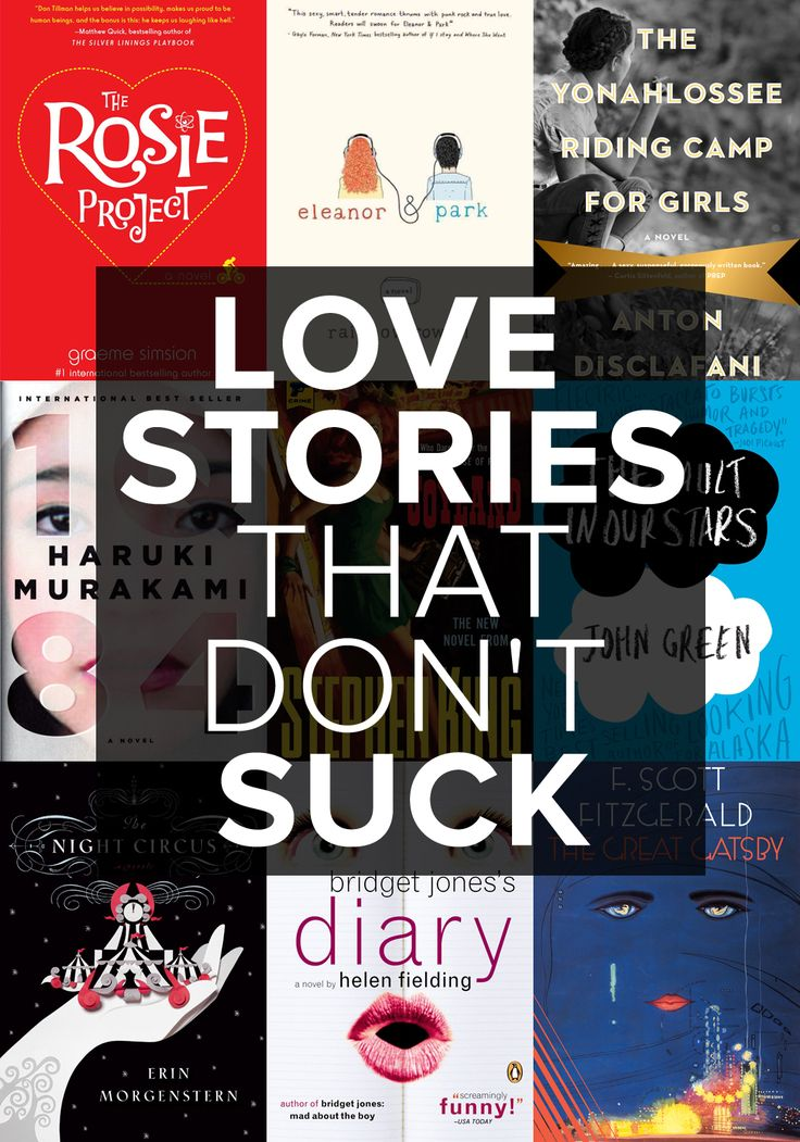 We promise these romance novels won't make you cringe.