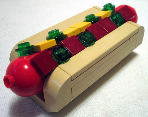 Lego Toy Food : Best images about hot dog on pinterest dogs toys