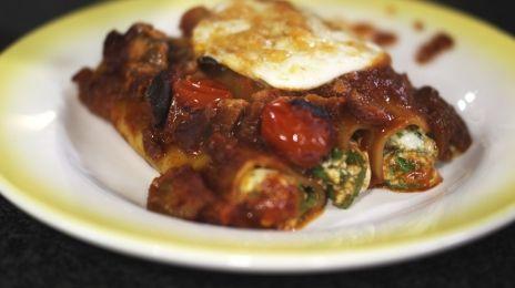 Eén - Dagelijkse kost - cannelloni met spinazie en ricotta | Eén