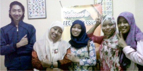 EEC (Easy English and IT Course).  Jl Tasura No 53 Krodan Maguwoharjo, Depok, Sleman RT 02 RW 03 (Selatan Perum Taman Cemara). http://www.angetan.com/EEC