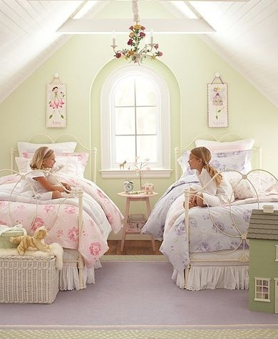 Beautiful space for two girls sharing a room