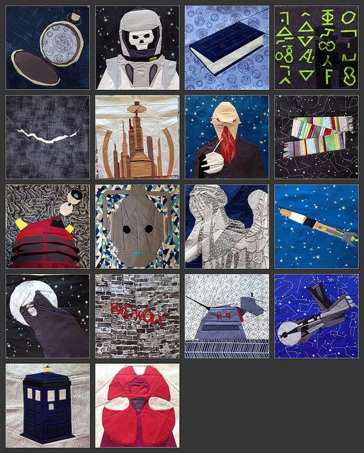 great Dr. Who Quilt  I need to make the TARDIS for the center of one of my quilts.