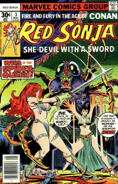 Red Sonja #3 - The Games of Gita (Issue)