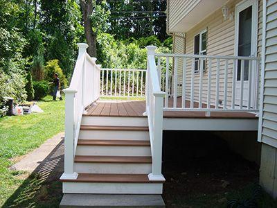 small trex porches | Massachusetts Composite Deck Photo Gallery #1 - Composite Deck ...