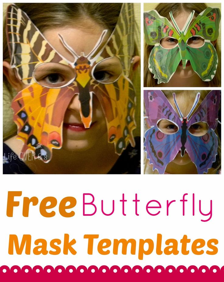 12 best Free Printable Animal Masks Templates images on – Free Mask Templates