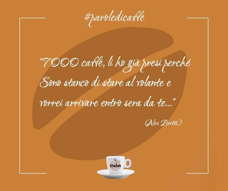 Potrebbero bastare 7000 caffè per affrontare il lunedì? Emoticon smile #paroledicaffè http://www.cialdi.it/  #coffeetime   #coffeelovers   #relaxing