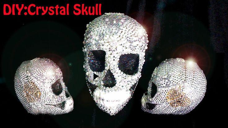 DIY: CRYSTAL SKULL. CALAVERA DE CRISTAL O AHULLADORA