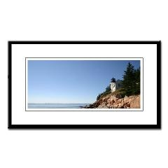 Bass Harbor Light Small Framed Print > IMAGES