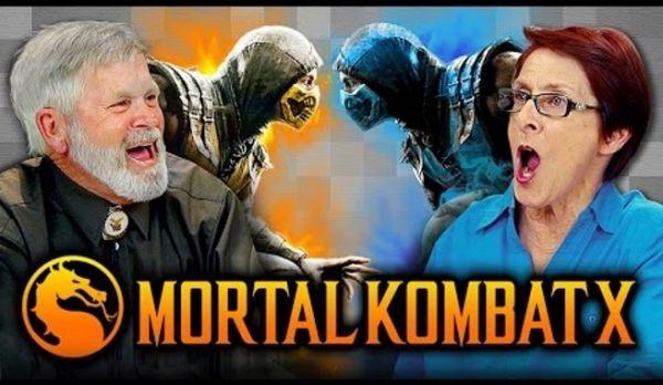 Elders React To Mortal Kombat X - Neatorama