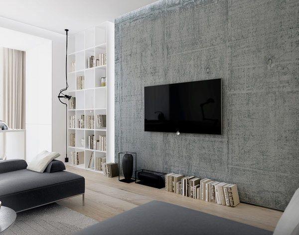 interior design in the style of minimalism - Das Zeitlose Charisma Vom Modernen Apartment Design