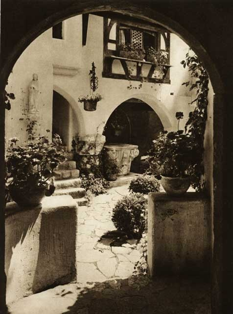 Romania (Bran castle) - old photos - by Kurt Hielscher