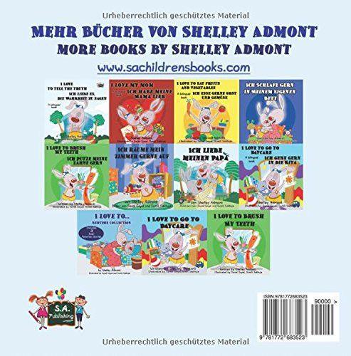 Ich habe meinen Papa lieb I Love My Dad (german english bilingual, german children's books): german