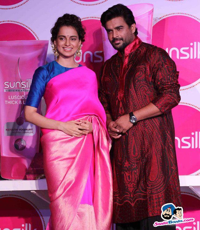 Promotion of Tanu Weds Manu Returns -- Kangana Ranaut and R Madhavan Picture # 306126
