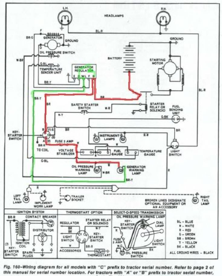Wiring Diagram For A Ford Tractor 3930 The Wiring