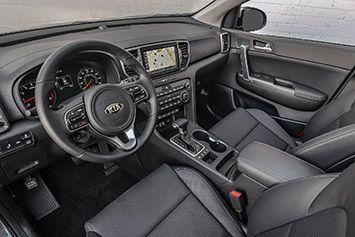 2017 Kia Sportage First Drive - Interior