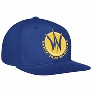 Santa Cruz Warriors adidas Royal Blue Flat Brim Snapback Cap