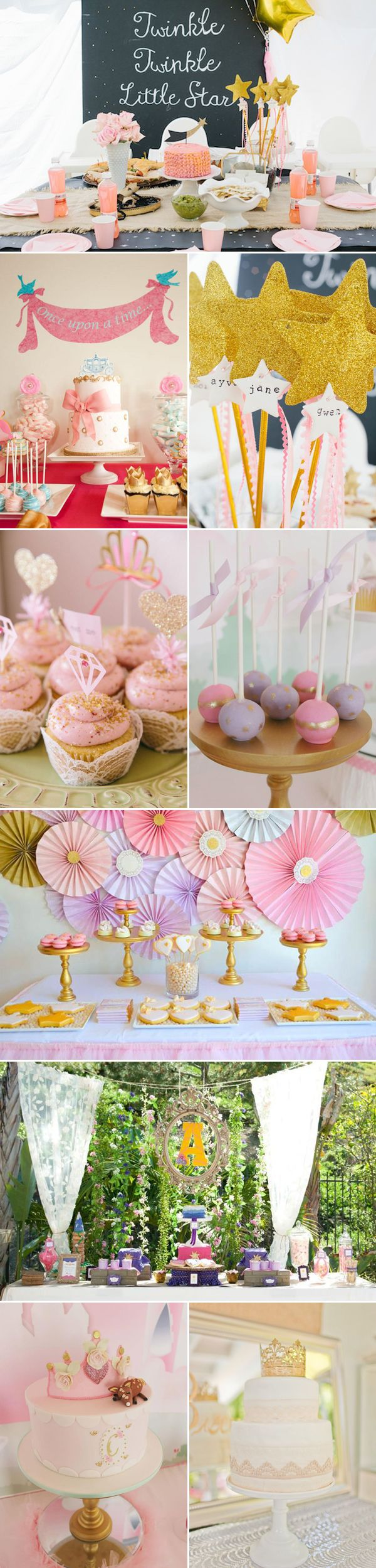 Adorable Princess-Themed Party Ideas - glam