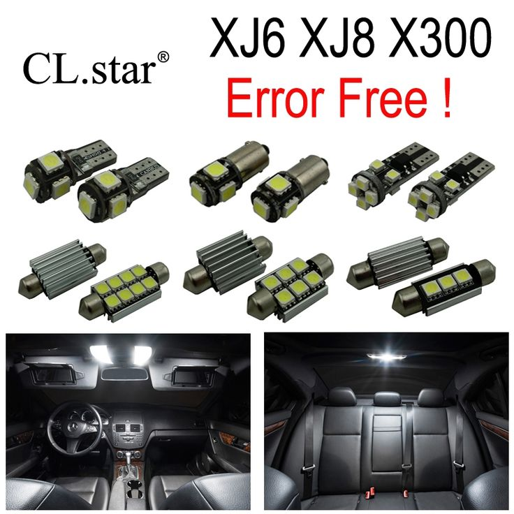 32.99$  Watch here - http://alijuu.shopchina.info/go.php?t=32754864951 - 18pc X Nice Canbus Error free LED Interior dome map reading Light lamp Kit Package For Jaguar XJ XJ6 XJ8 XJ12 X300 (1995-1997) 32.99$ #SHOPPING