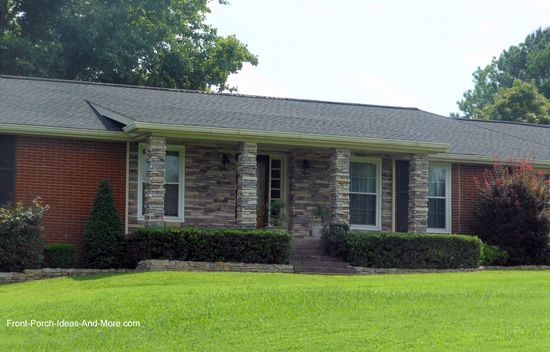 Ranch Home Porches Add Appeal And Comfort Home Reno