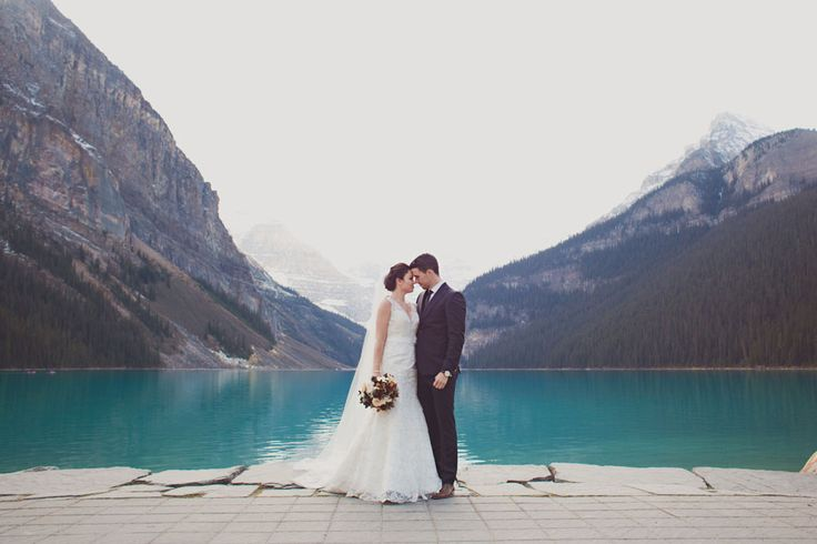 An Elegant Lake Louise Wedding | Weddingbells