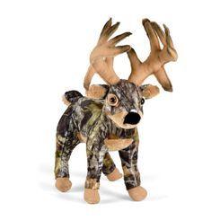 Mossy Oak Camo Wild Deer Plush  deergear.com #LegendaryWhitetails