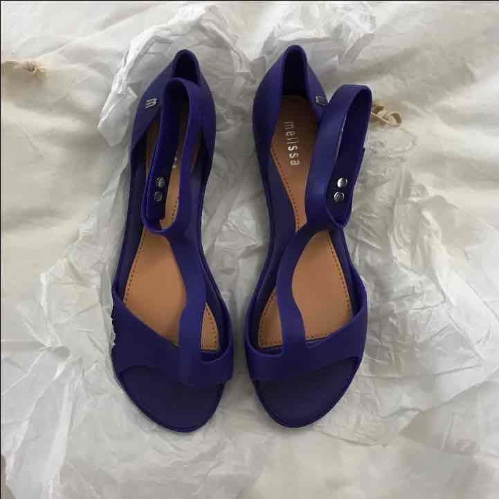 Melissa Jelly Shoes Blue Size 7 Women's - Mercari: Anyone can buy & sell